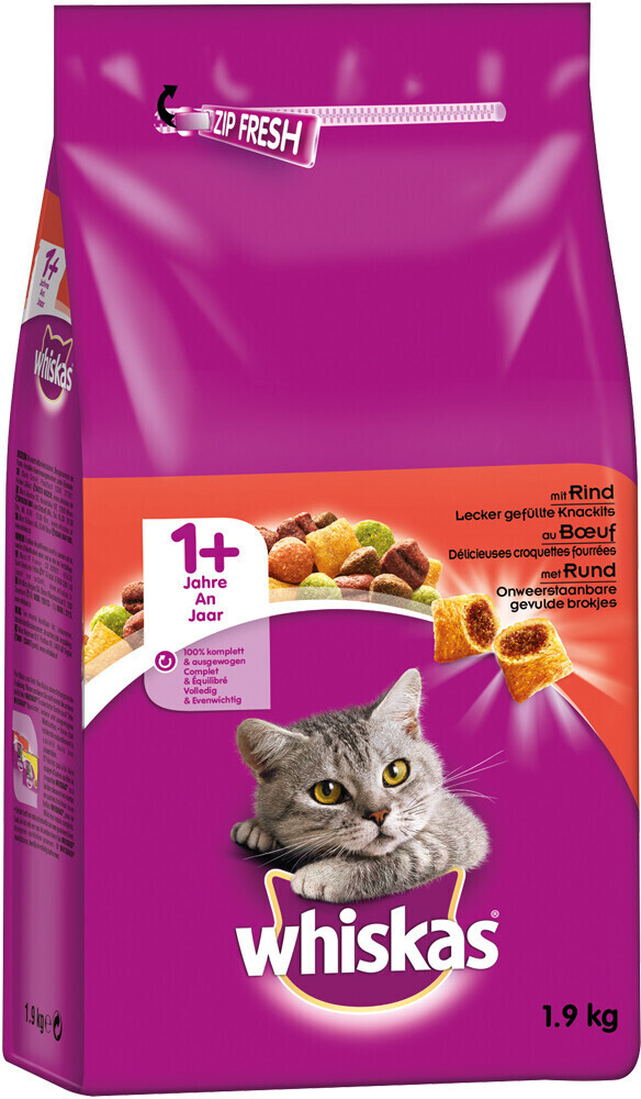 Image of Whiskas Whiskas + 1 with beef (800 g)
