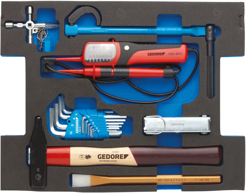 Gedore Sortiment Sanitär in 2/2 L-BOXX 136 Modul 23-tlg.