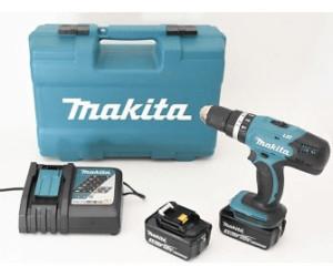 Makita akku-schlagbohrschrauber hp457dwe test