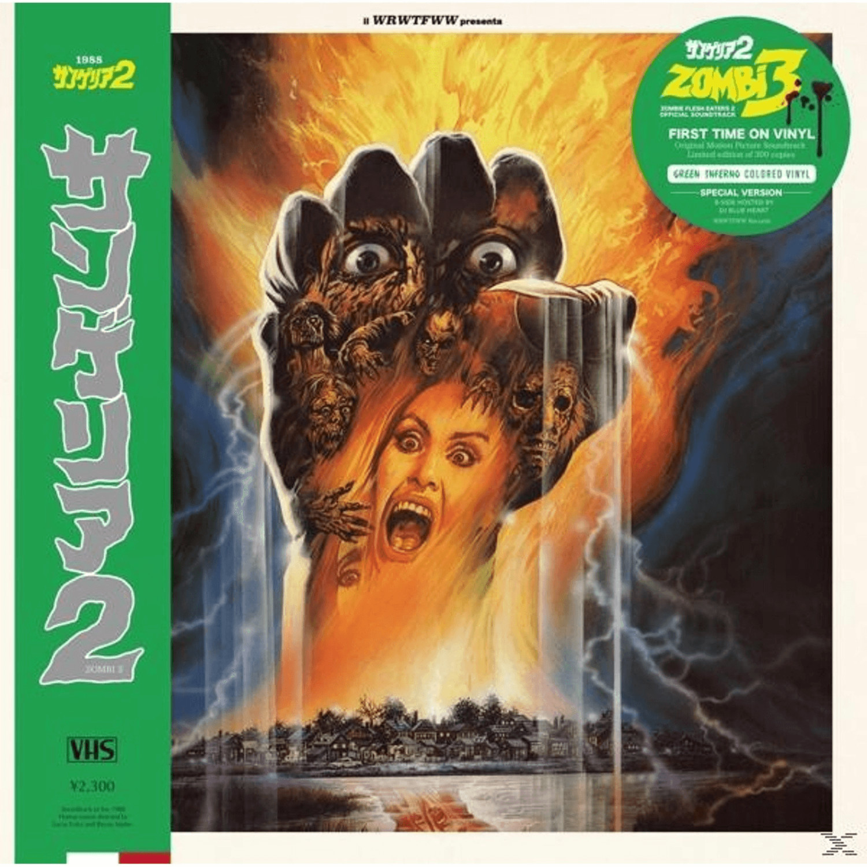 Stefano Mainetti - Zombi 3 (OST,grünes Vinyl) -...