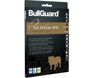 bullguard premium protection 2018 5 ger te 2 jahre ab. Black Bedroom Furniture Sets. Home Design Ideas