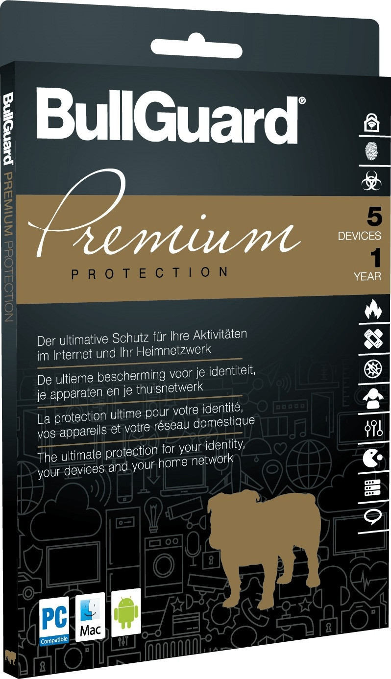 Image of BullGuard Premium Protection 2018