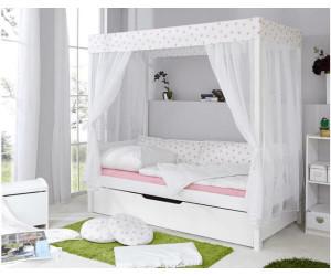 ticaa himmelbett stern mit zusatzbett 90x200cm ab 350 56 preisvergleich bei. Black Bedroom Furniture Sets. Home Design Ideas