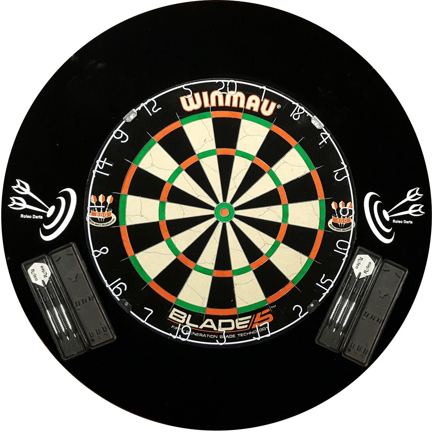 Roleo Winmau Blade 5 inklusive Catchring und St...