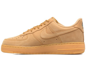 more photos 3845e fb8ae Nike Air Force 1 07 WB flaxgum light brownoutdoor greenflax