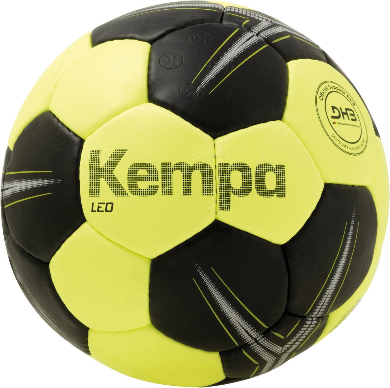 Kempa Leo fluo gelb/schwarz (Größe 0)
