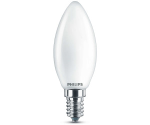 Leuchtmittel Philips LED E14 Kerze 4,5 Watt warmweiß dimmbar Glühbirne Lampe