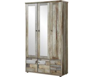 Innostyle bonanza driftwood 109x188x40cm ab 260 35 for Schuhschrank flap