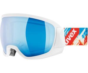 UVEX Contest FM Goggle White Mat DL/Green-Clear 2017 Goggles FViL5sb