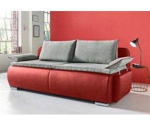 collection ab schlafsofa mit boxspring aufbau rot ab 494 99 preisvergleich bei. Black Bedroom Furniture Sets. Home Design Ideas