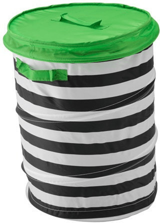 Ikea FLYTTBAR Korb mit Deckel grün (903.288.28)