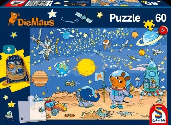 Schmidt-Spiele Die Maus + Turnbeutel 60