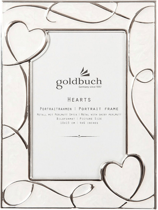 Goldbuch Metallrahmen Hearts 10x15
