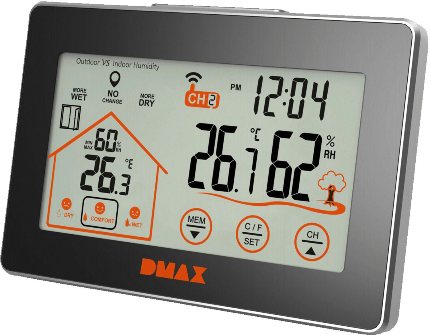 DMAX Thermo- Hygrometer (307218)