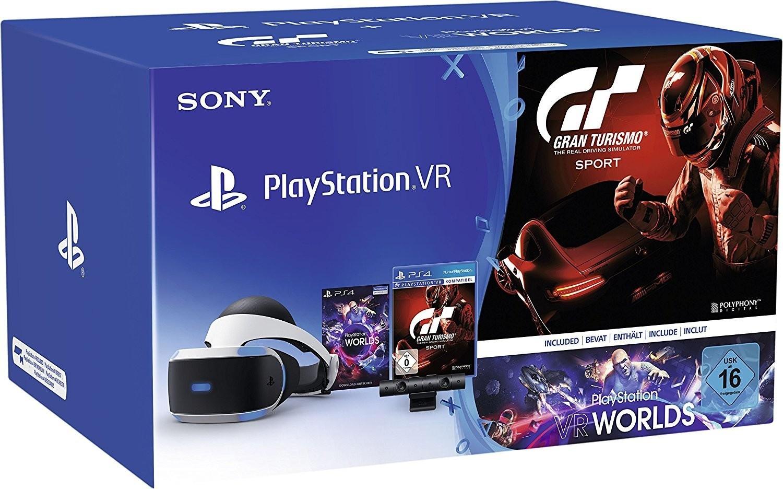 Sony PlayStation VR + PlayStation Kamera + Gran...