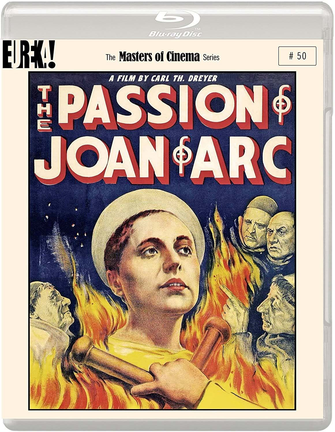 Image of The Passion of Joan of Arc (1928) (Masters of Cinema) [Blu-ray]