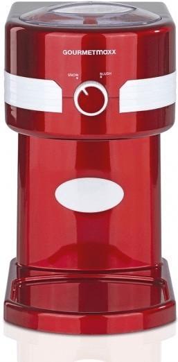 #GOURMETmaxx Eismaschine Slush & Crushed Ice 30W in Rot/Weiß 1568#