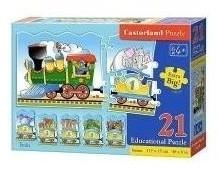 Castorland Zählen Lernen - Der Zug