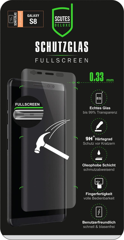 *Scutes Deluxe Fullscreen Schutzglas (Galaxy S8)*