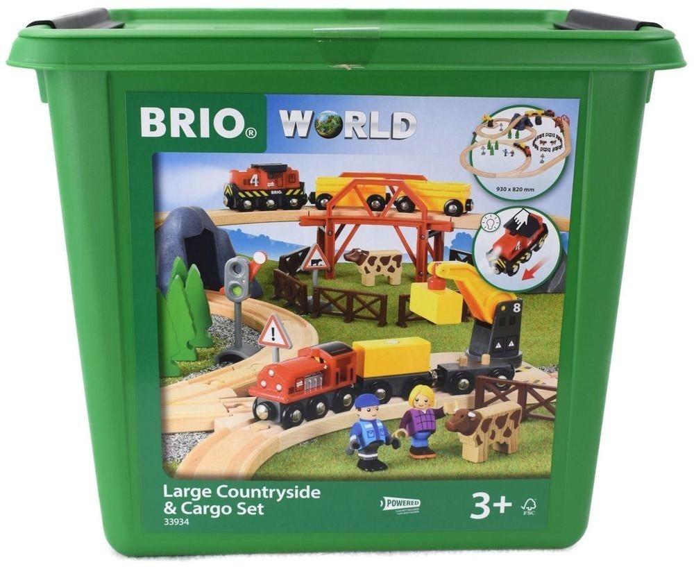 Brio Bahn-Set mit Brücke (33934)