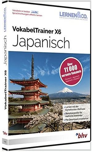 bhv Vokabeltrainer X6 Japanisch