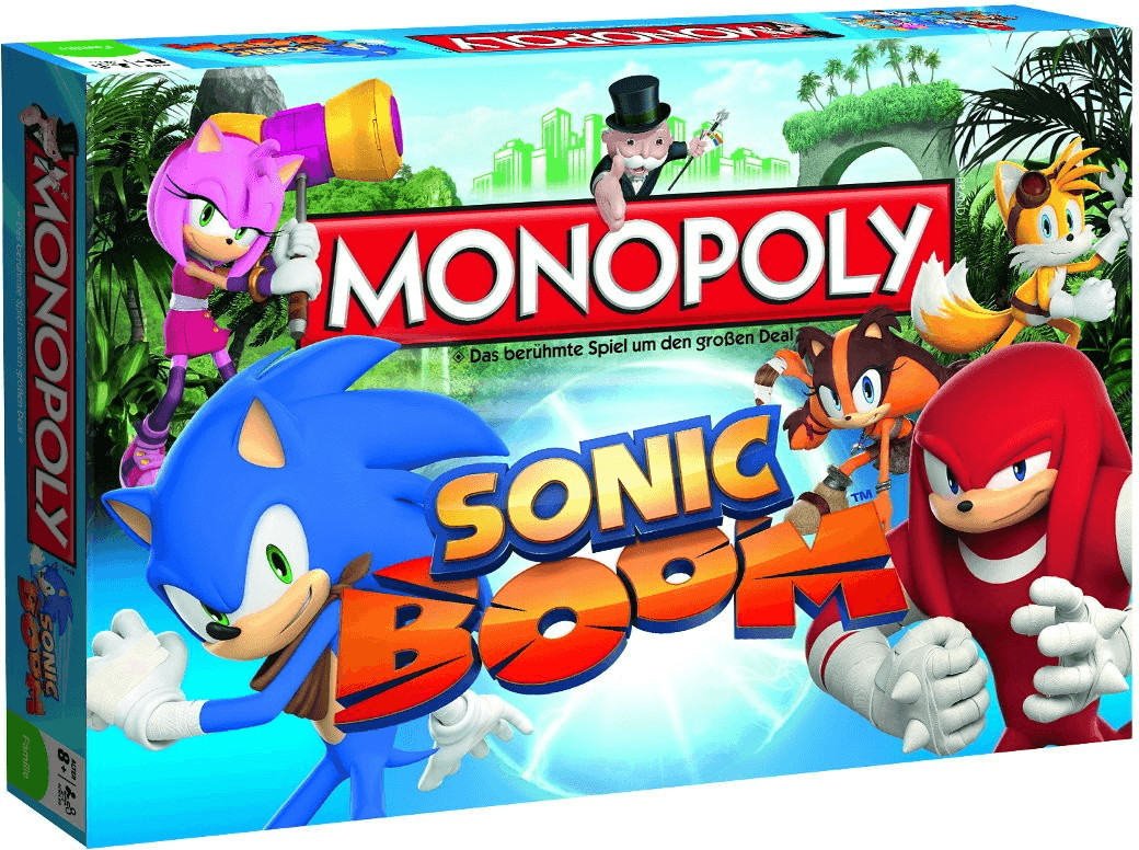 Winning-Moves Sonic Boom Monopoly