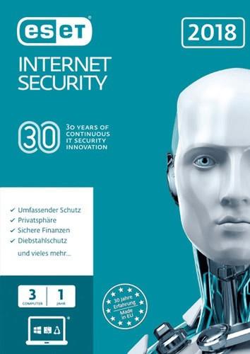 ESET Internet Security 2018 (3 Geräte) (1 Jahr)...