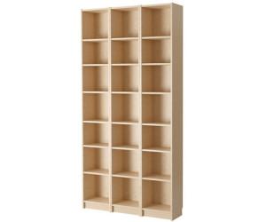 Bücherregal ikea braun  Ikea BILLY Bücherregal 120x237x28cm ab 186,00 € | Preisvergleich ...
