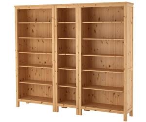 ikea hemnes b cherregal 229x197cm ab 377 00 preisvergleich bei. Black Bedroom Furniture Sets. Home Design Ideas
