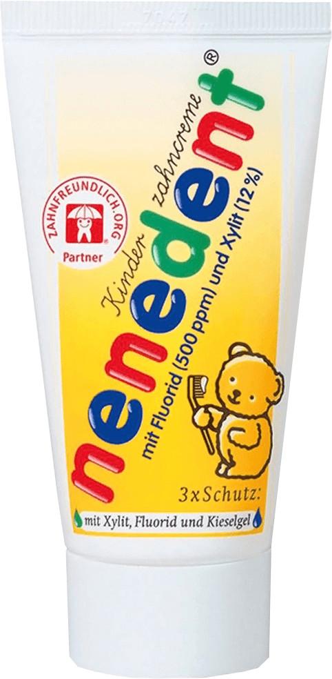 Dentinox Nenedent Kinderzahncreme mit Fluorid (...