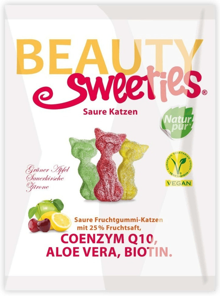 Beauty Sweeties Saure Katzen (125g)