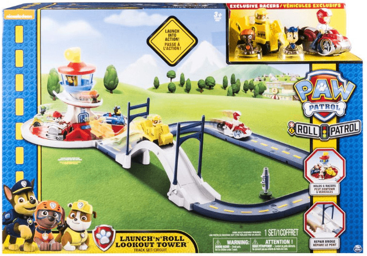 Spin Master Paw Patrol Launch n´ Roll Lookout T...