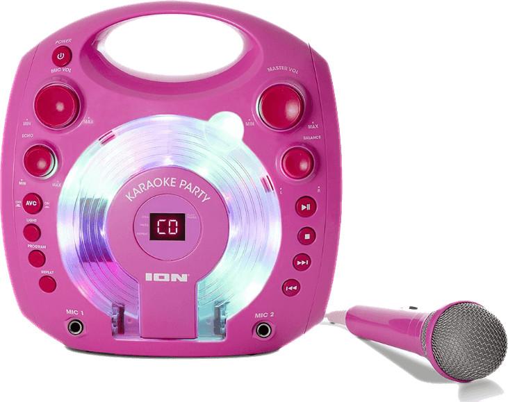 ion Karaoke Party pink