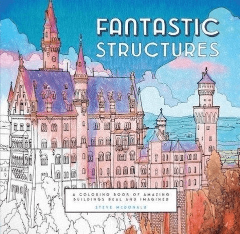 Fantastic Structures (Colouring Books) [Taschen...