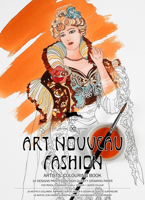 Art Nouveau Fashion: Artists´ Colouring Book [T...