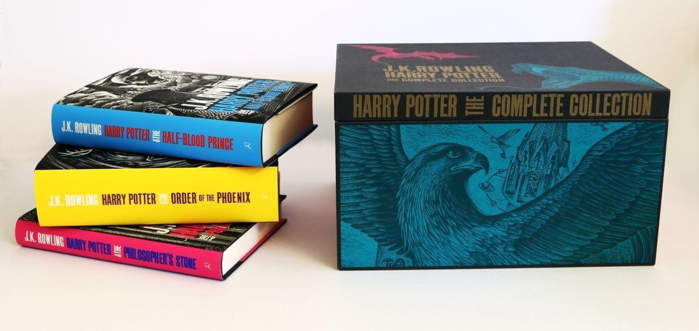 Image of Harry Potter Adult Hardback Box Set