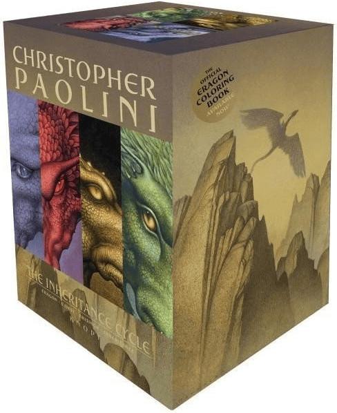 Inheritance Cycle 4-Book Trade Paperback Boxed Set (Eragon, Eldest, Brisingr, in (The Inheritance Cycle) [Taschenbuch]