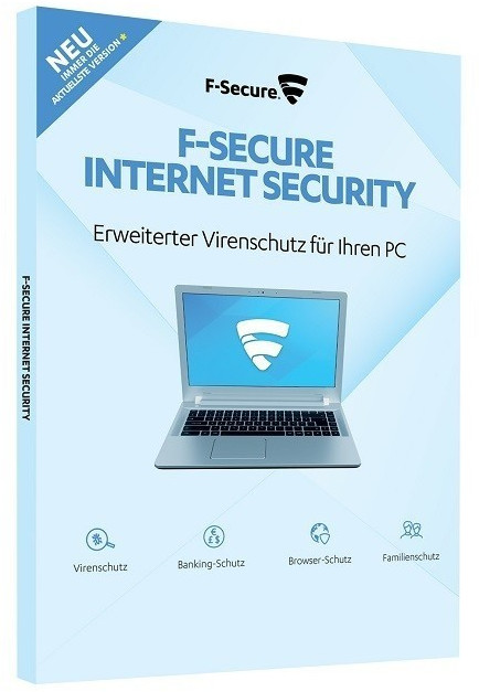 Image of F-Secure Internet Security 2018 Upgrade (1 Device) (1 Year)