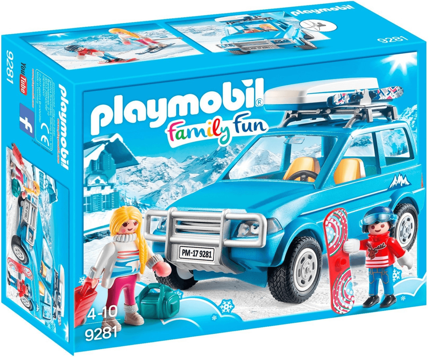 Playmobil Family Fun - Auto mit Dachbox (9281)
