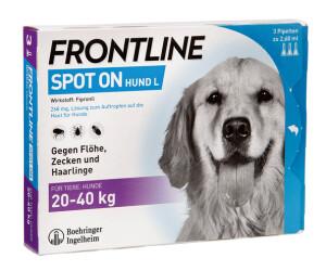 Was kostet frontline combo beim tierarzt