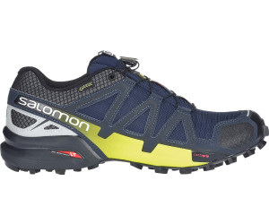 SPEEDCROSS 4 NOCTURNE GTX - Laufschuh Trail - navy blazer/ombre blue/lime punch dX2T4