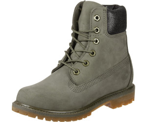 Timberland 6-Inch Premium Waterproof Boot Grau, Damen PrimaLoft® Winterstiefel, Größe EU 39 - Farbe Canteen Waterbuck with Canteen Charred Collar Damen PrimaLoft® Winterstiefel, Canteen Waterbuck with Canteen Charred Collar, Größe 39 - Grau