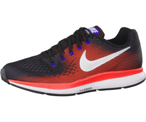 2e6e4ae93419 Buy Nike Air Zoom Pegasus 34 black bright crimson concord metallic ...