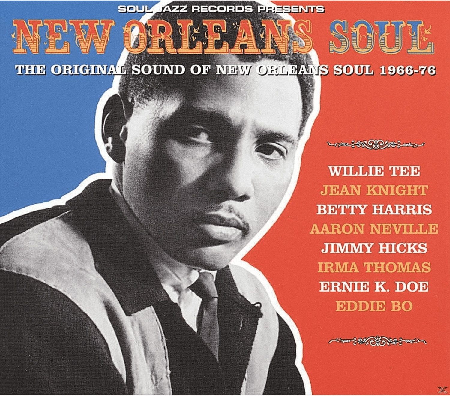 VARIOUS - New Orleans Soul 1960-1976 - (LP + Do...
