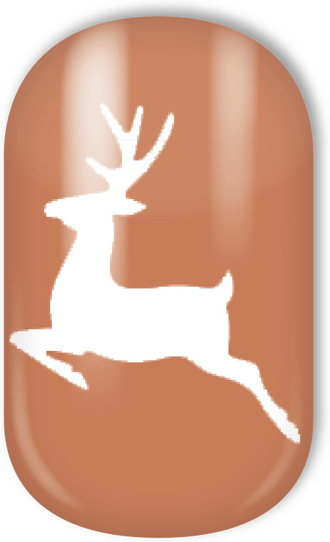 Miss Sophie´s Nail Wraps Winter Rudolph´s Favorite