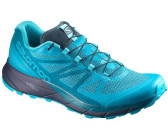 Salomon Sense Ride Blau-Lila/Violett, Damen Trailrunning- & Laufschuh, Größe EU 38 - Farbe Evening Blue-Crown Blue-Grape Juice %SALE 20% Damen Trailrunning- & Laufschuh, Evening Blue - Crown Blue - Gr