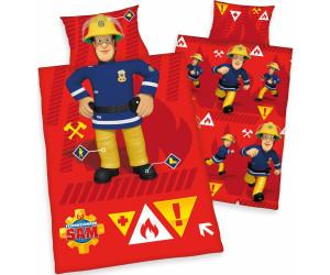 Herding Bettwäsche 100x135cm Renforcé Feuerwehrmann Sam