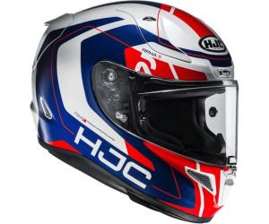 HJC Casque de Moto RPHA 11 BEN SPIES MC1 Blanc//Rouge Taille XS