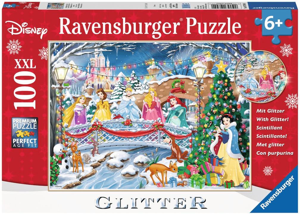 Ravensburger Disney, Prinzessinnen, Die Prinzessinnen feiern Weihnachten