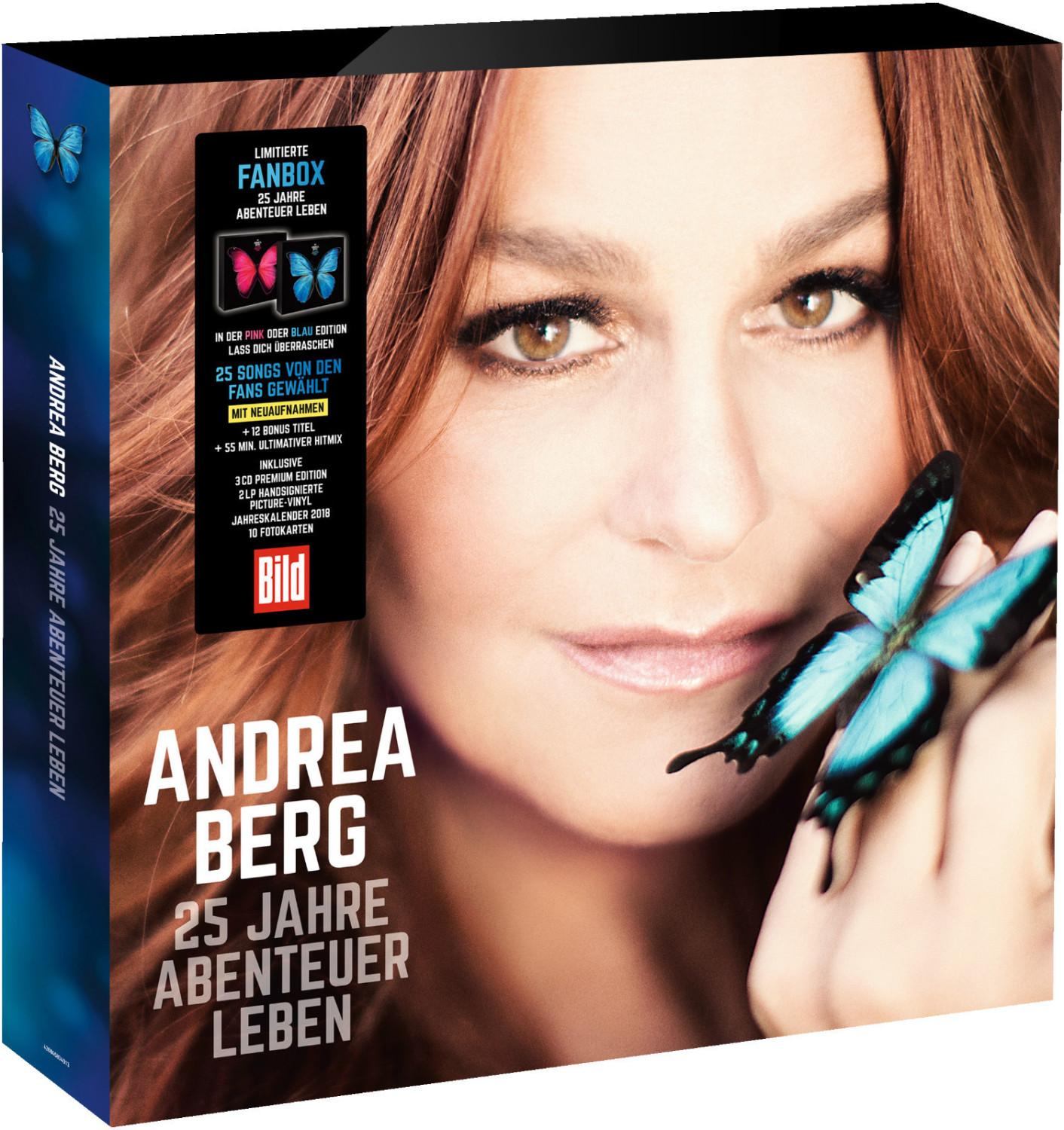 Andrea Berg - 25 Jahre Abenteuer Leben (ltd.Fanbox)